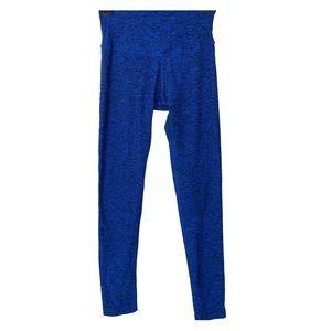 "Beyond Yoga Blue Space Dye Leggings Athletic 35"""